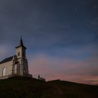 Kápolna a pusztában