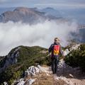 Gerinctúra a Garda-tó felett