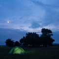 Balaton-felvidék sátorral