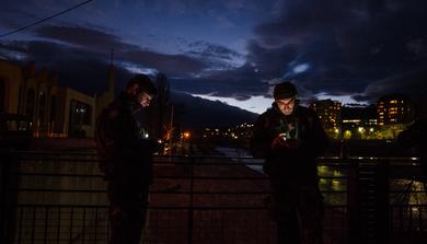 Mobiltelefon, mint fényforrás
