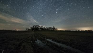 Csillagok március elején