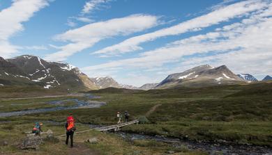 Egy túra Svédországban: Fjällräven 2015