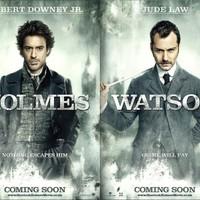Sherlock Holmes karakterposzterek