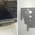 Laptop kütyü: beépített vonalzó
