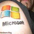 Egy fanatikusnak kötelező: microsoft tetkó...