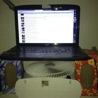 Laptop hűtés kolesz verzió...