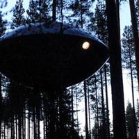 UFO az erdő mélyén
