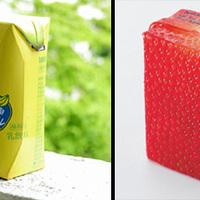 Dizájn - Kreatív gyümölcslé csomagolás