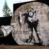 A street art mesterei: Claudio Ethos