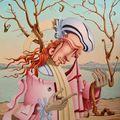 Alexander Lyamkin különös festményei