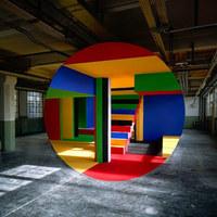 Optikai illúzió művészi szinten