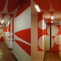 Optikai illúzió - 3D festett helyiségek