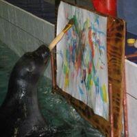 Lenyűgöző - Festőművész állatok