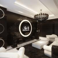 Luxus enteriőr klasszikus kivitelben