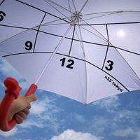 Kreatív esernyő dizájn