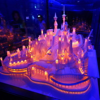 A lenyűgöző origami kastély