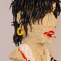 Amy Winehouse legoból