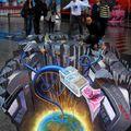 3D aszfaltfestés - ATM