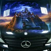 Lenyűgöző Mercedes fényezés