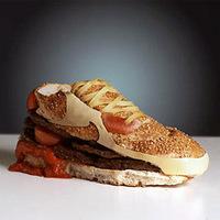 Étel művészet - Nike szendvics