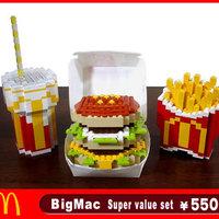 LEGO művészet - Big Mac menü