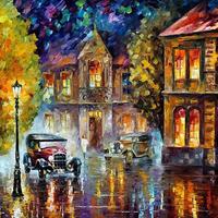 Afremov csodálatos festményei