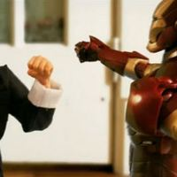 Iron Man vs Bruce Lee - Stop motion videó