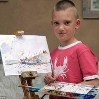 Elképesztő vízfestmények egy 6 éves fiútól