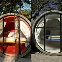Hotelszoba betongyűrűből