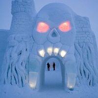 Lenyűgöző mesehotel jégből