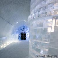 Elképesztő jég hotel