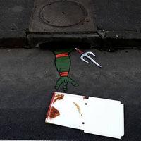 Street art - Tini nindzsa