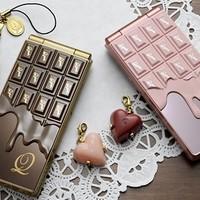 Csokoládé telefon dizájn