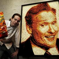 Portré Cheetosból