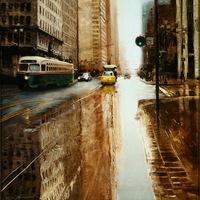 Valósághű festmények - A város