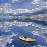 A nap képe: Csónakázás a felhők között