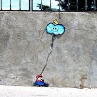 Kreatív utcai művészet