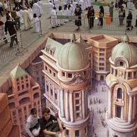 3D aszfaltfestészet - Repülő szőnyeg
