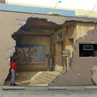3D street art - Bámulat