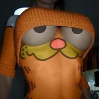 Testfestés - Garfield