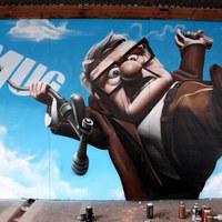 Lenyűgöző graffitik