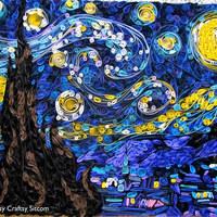 A Csillagos éj papírból