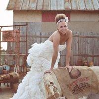 Esküvői ruhák wc papírból