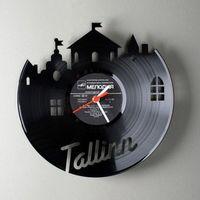 Kreatív faliórák bakelit lemezből