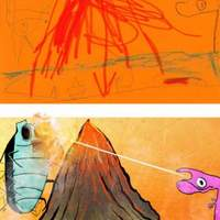 Gyermekrajzok művész szemmel