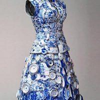 Porcelán ruha