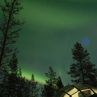 Iglu hotel Finnországban
