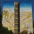 Óriás graffiti BLU-tól