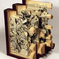Elképesztő könyvszobrászat