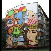 Street art - Dobd fel a lakótelepet!
